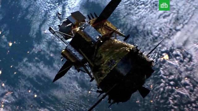 Капсула китайского зонда собразцами лунного грунта села на Землю.Китай, Луна, космонавтика, космос, наука и открытия.НТВ.Ru: новости, видео, программы телеканала НТВ