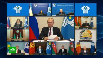 Путин предложил странам СНГ совместно производить вакцины от <nobr>COVID-19</nobr>