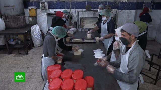 ВСирии восстанавливают производство кондитерских изделий.Сирия, заводы и фабрики, экономика и бизнес.НТВ.Ru: новости, видео, программы телеканала НТВ