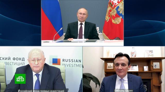 Гинцбург объяснил Путину, почему всемье не все заболевают коронавирусом.Путин, болезни, коронавирус, прививки, эпидемия.НТВ.Ru: новости, видео, программы телеканала НТВ