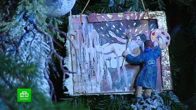 Эрмитаж выбрал себе игрушки на новогоднюю елку.Новый год, Санкт-Петербург, Эрмитаж, торжества и праздники.НТВ.Ru: новости, видео, программы телеканала НТВ