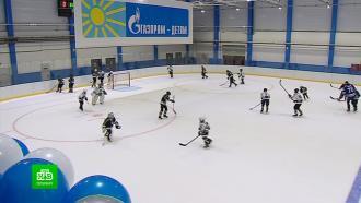 «Газпром» построил в Ленобласти современный ледовый стадион