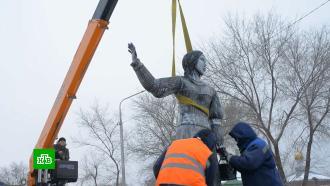ВНововоронеже демонтировали пугающую скульптуру «Алёнка»