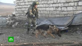 Российские миротворцы завершают разминирование севера Степанакерта