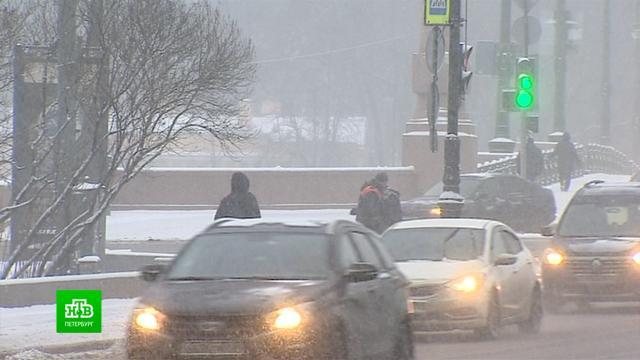 Снегопад и гололед привели к многочисленным ДТП в Петербурге.ДТП, Санкт-Петербург, погода, снег.НТВ.Ru: новости, видео, программы телеканала НТВ