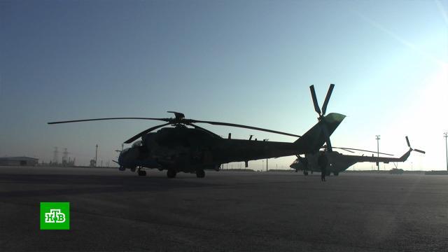 ВСирии вертолеты ВКС патрулируют стратегически важную автомагистраль.Сирия, армии мира, армия и флот РФ, войны и вооруженные конфликты.НТВ.Ru: новости, видео, программы телеканала НТВ