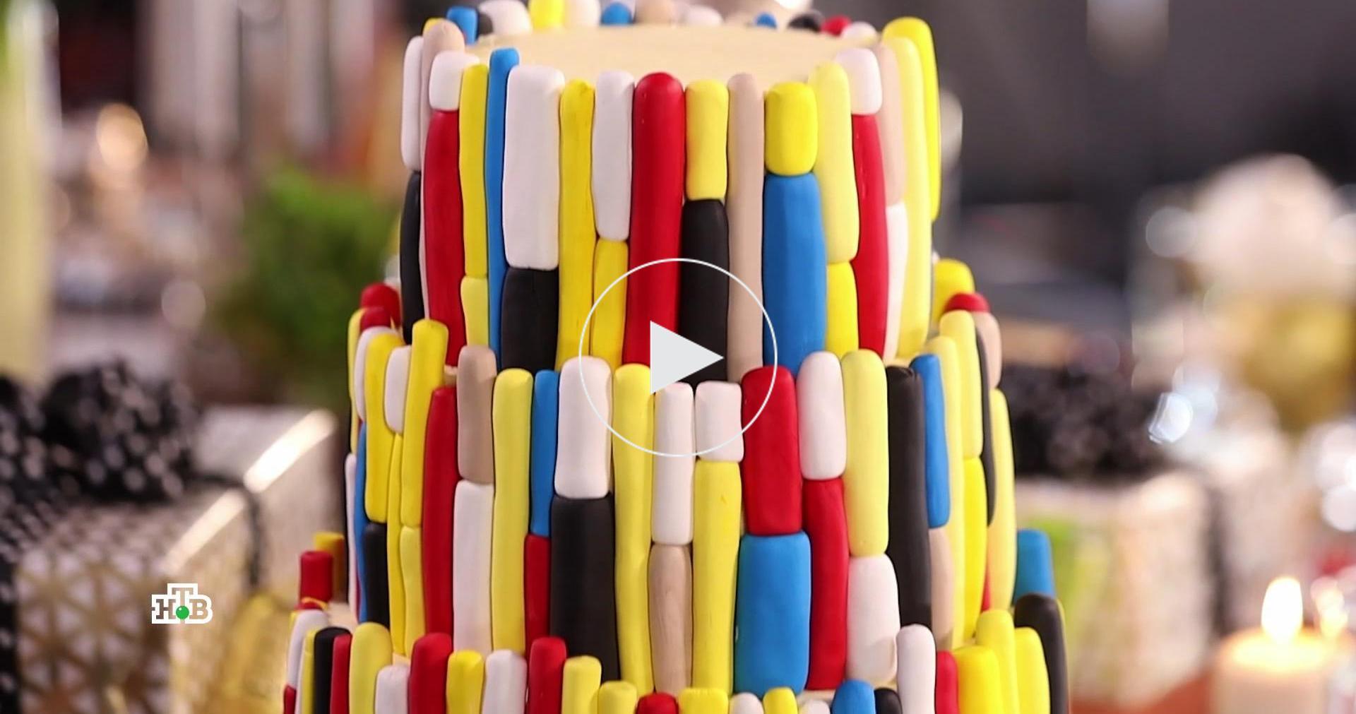 Цветная мастика на тортах: опаснали она для детей ивзрослых?