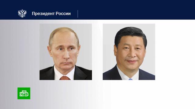 Путин иСи Цзиньпин поздравили друг друга сНовым годом.Китай, Новый год, Путин, торжества и праздники.НТВ.Ru: новости, видео, программы телеканала НТВ