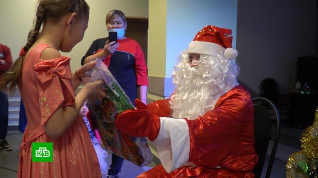 «Ёлка желаний»: неравнодушные россияне исполняют мечты детей.Новый год, благотворительность, дети и подростки, подарки, торжества и праздники.НТВ.Ru: новости, видео, программы телеканала НТВ