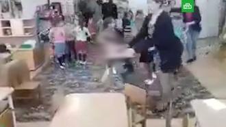 Воспитатель грубо толкнула ребенка на новогодней репетиции