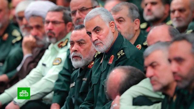 Иран пообещал отомстить США за убийство генерала Сулеймани.Ближний Восток, Ирак, Иран, США, Трамп Дональд.НТВ.Ru: новости, видео, программы телеканала НТВ