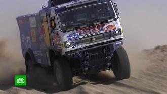 Экипаж «КамАЗ-мастер» выиграл первый этап «Дакара»