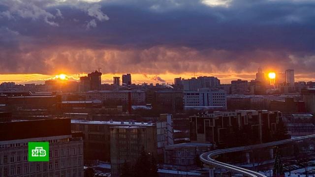 Над Москвой сфотографировали два солнца.Солнце, погода.НТВ.Ru: новости, видео, программы телеканала НТВ