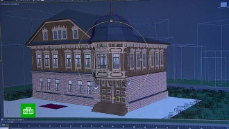 Дизайнер создает <nobr>3D-модель</nobr> исторического центра старинной Костромы