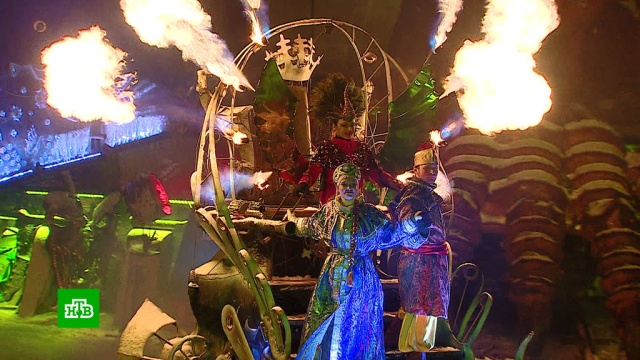Вновогодней сказке от «Ночных волков» Дед Мороз оседлал байк.Новый год, байкеры, дети и подростки, мотоциклы и мопеды, торжества и праздники.НТВ.Ru: новости, видео, программы телеканала НТВ