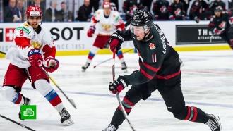 Сборная Канады выиграла уроссиян вфинале молодежного ЧМ