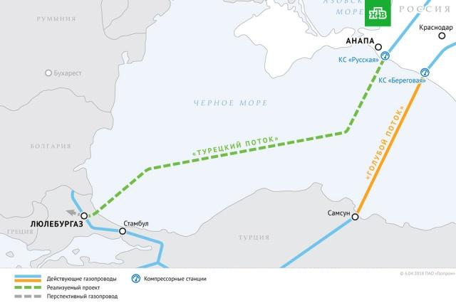 Газопровод «Турецкий поток».Болгария, Газпром, Европейский союз, США, Турция, газ, газопровод.НТВ.Ru: новости, видео, программы телеканала НТВ