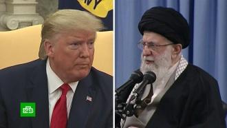 Мир ждет реакции Трампа на ракетные удары Ирана