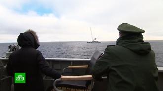 Путину показали зрелищный запуск «Кинжала»