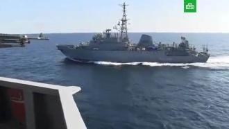 Российские военные обвинили экипаж эсминца США вгрубом нарушении правил