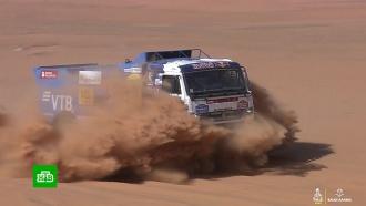 Россияне стали победителями шестого этапа ралли «Дакар»
