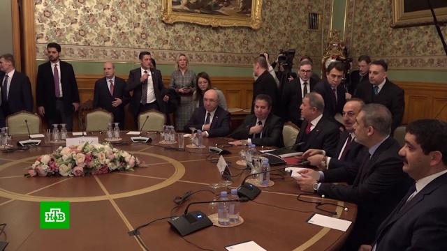 Сарраджа иХафтара не удалось усадить за стол переговоров вМоскве.Ливия, войны и вооруженные конфликты, переговоры.НТВ.Ru: новости, видео, программы телеканала НТВ