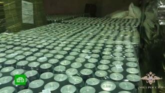 Крупное производство контрафактного энергетика закрыли под Тулой