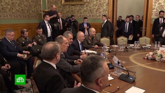 Минобороны объяснило отказ Хафтара подписывать соглашение по Ливии вМоскве.Ливия, Минобороны РФ, войны и вооруженные конфликты, переговоры.НТВ.Ru: новости, видео, программы телеканала НТВ