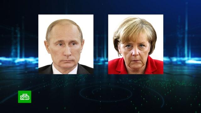 Путин обсудил с Меркель подготовку к берлинской конференции по Ливии.Ливия, Меркель, Путин, войны и вооруженные конфликты.НТВ.Ru: новости, видео, программы телеканала НТВ