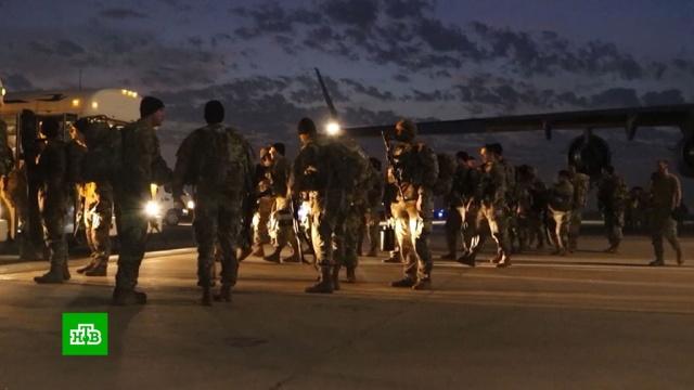 Обстрел базы США вИраке: американцы не пострадали.Ирак, Иран, США, армии мира.НТВ.Ru: новости, видео, программы телеканала НТВ