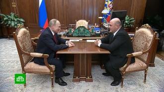 ВГосдуме прошло внеочередное заседание Совета сучастием Мишустина