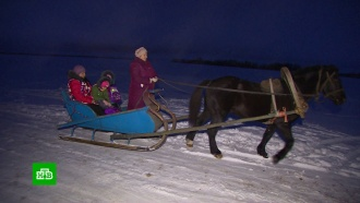 ВОрловской области дети добираются вшколу на перекладных