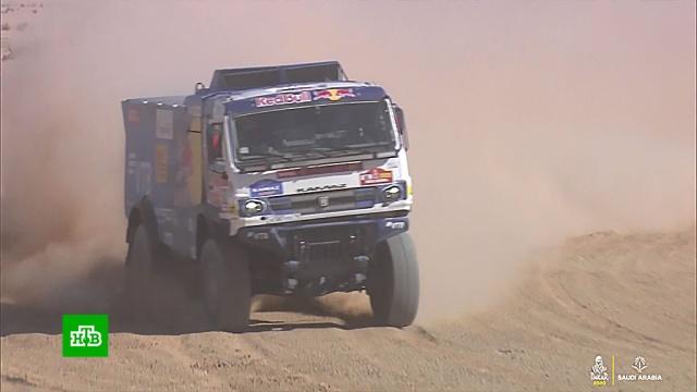 Экипаж команды «КамАЗ-мастер» выиграл «Дакар-2020» в зачете грузовиков.Дакар, КамАЗ-мастер, автомотоспорт.НТВ.Ru: новости, видео, программы телеканала НТВ
