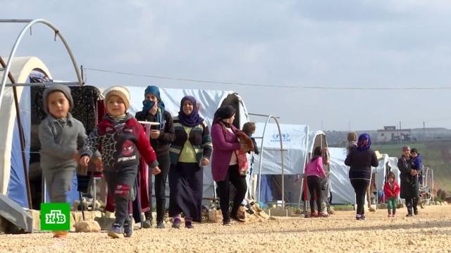 Всирийском лагере Аль-Ауда готовятся кновой волне беженцев из провинции Идлиб.Сирия, беженцы, войны и вооруженные конфликты.НТВ.Ru: новости, видео, программы телеканала НТВ