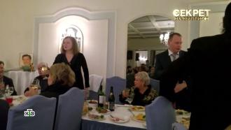 Вдова Караченцова объяснила, почему пила шампанское на поминках по мужу