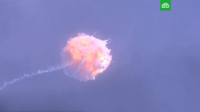 SpaceX испытала систему спасения для пилотируемых полетов к МКС.космонавтика, космос, спутники, США.НТВ.Ru: новости, видео, программы телеканала НТВ