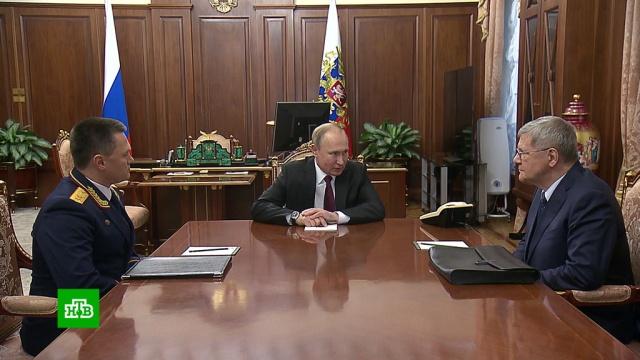 Путин предложил Чайке стать полпредом президента на Северном Кавказе.Путин, назначения и отставки, правительство РФ.НТВ.Ru: новости, видео, программы телеканала НТВ