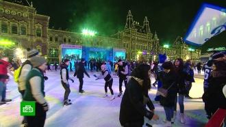 ВДень студента на Красной площади устроили спортивную акцию