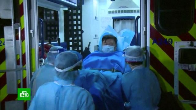 ВУхане от вызванной коронавирусом пневмонии скончался врач.ВОЗ, Китай, болезни, эпидемия.НТВ.Ru: новости, видео, программы телеканала НТВ