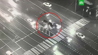 Смертельное ДТП с шестью машинами в Москве попало на видео