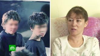 Мать детей, живших взаброшенном доме, рассказала об издевательствах сожителя