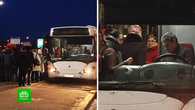 «Новые» автобусы осложнили жизнь выборжанам.Ленинградская область, автобусы, общественный транспорт.НТВ.Ru: новости, видео, программы телеканала НТВ