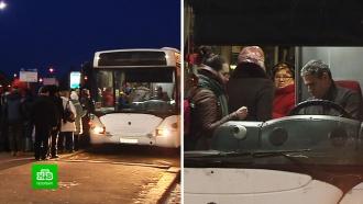 «Новые» автобусы осложнили жизнь выборжанам