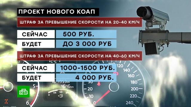Штрафы для российских водителей могут вырасти внесколько раз.автомобили, законодательство, штрафы.НТВ.Ru: новости, видео, программы телеканала НТВ