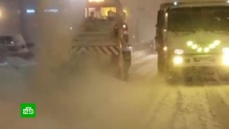 На Сахалине <nobr>из-за</nobr> метели закрыли школы ипрервали авиасообщение сКурилами