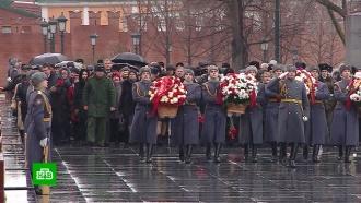 ВМоскве почтили память павших вСталинградской битве