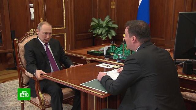 «Отработали на отлично»: Путин похвалил российских фермеров.Путин, зерно, сельское хозяйство, урожай, экономика и бизнес.НТВ.Ru: новости, видео, программы телеканала НТВ
