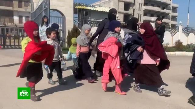 В Москву из сирийского лагеря беженцев доставят 35 детей.Асад, Ирак, Сирия, терроризм.НТВ.Ru: новости, видео, программы телеканала НТВ