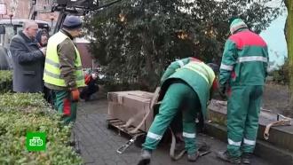 Впольском Лешно снесли еще один памятник героям ВОВ