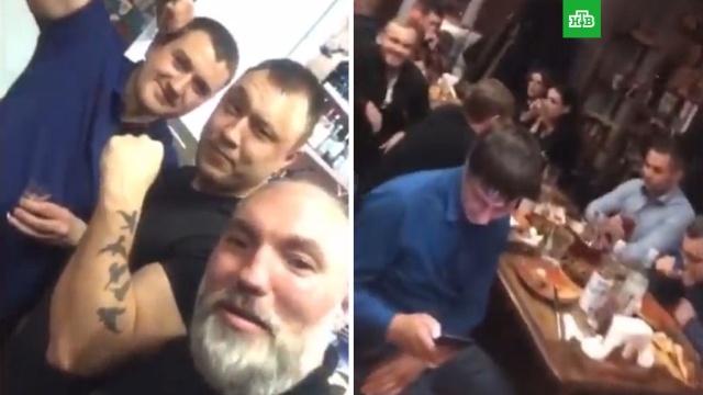 Тюменские силовики отметили повышение коллеги под крики «АУЕ» и«жизнь ворам».Тюмень, рестораны и кафе.НТВ.Ru: новости, видео, программы телеканала НТВ